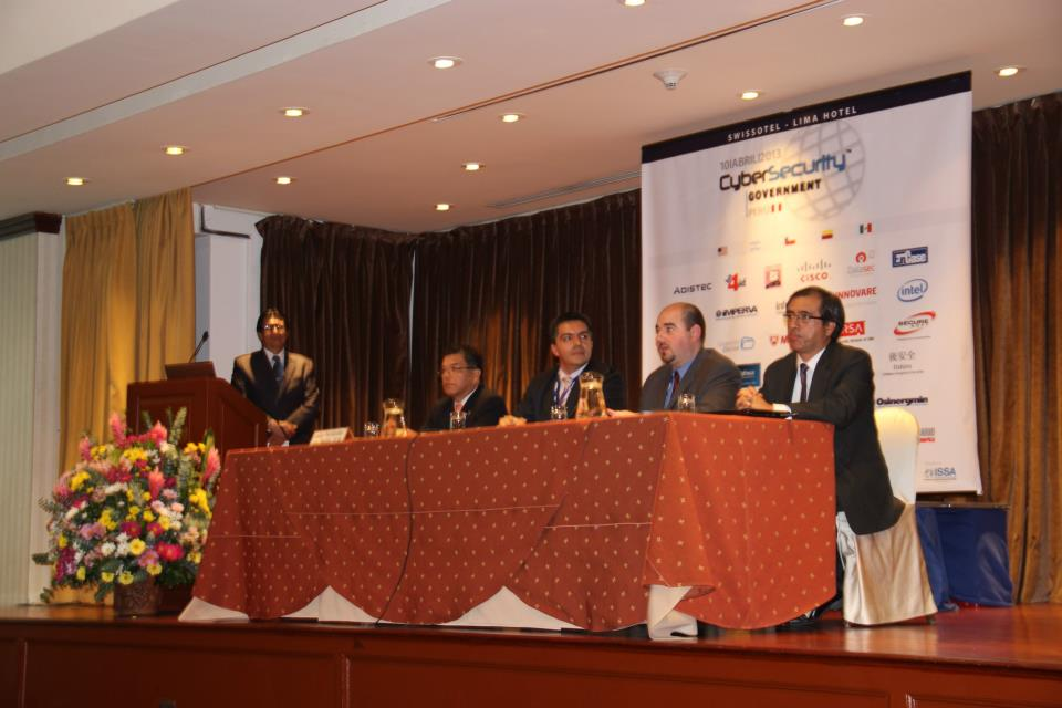 CyberSecurity Government 2013 - Lima (Perú)