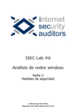 ISecLab #6: Análisis de redes Wireless.