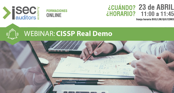 isecwebinar CISSP Real Demo